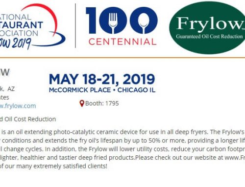 Frylow at the National Restaurant Association Show 2019